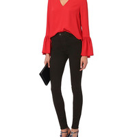 Exclusive for Intermix Katie Bell Sleeve Blouse - INTERMIX®