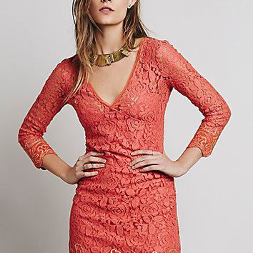 Free People Womens FP X Cassidy Mini Dress