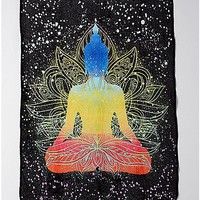 Buddha Fleece Blanket - Spencer's
