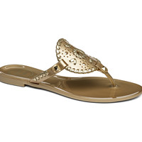 Jack Rogers Jelly Sandal- Gold