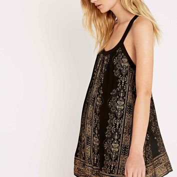 Ecote Bay Bay Frock Dress in Black - Urban Outfitters