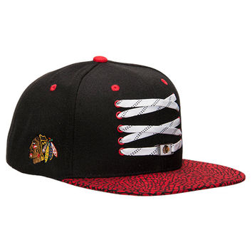 Zephyr Chicago Blackhawks NHL Elephant Lacer Snapback Hat