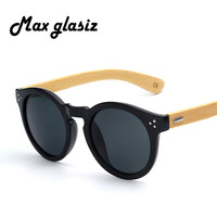 2014 hot fashion bambu sunglasses oculos de madeira men women wooden sun glass retro vintage polarized eyewear wood glasses