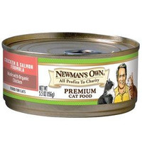 Newman's Own Organics Chicken Salmon Cat (24x3oz)