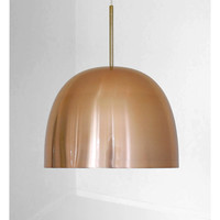 Piet Hein - Beautiful copper vintage lamp from the mid century