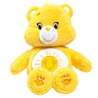 Just Play Care Bears Funshine Medium Plush with DVD
