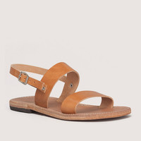 FREE SHIPPING - Plato UNISEX handmade leather sandal, Various colours, Monochrome