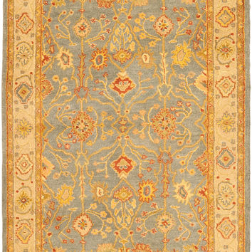 Safavieh Antiquity Traditional Indoor Area Rug Blue / Ivory