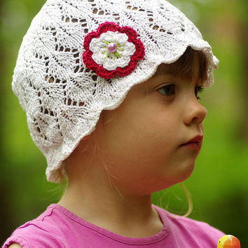 Kids lace sun hat,  sunhat, kids summer hat, girls sunhat, cotton sun hat, floppy hat, toddler sun hat, toddler summer hat, girls hat