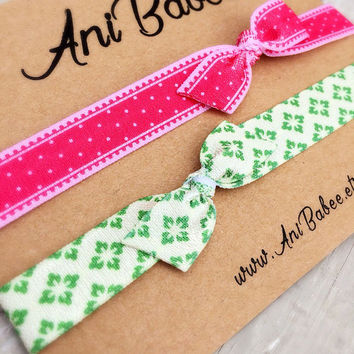 Christmas headband, Christmas bow headband set, baby headband set, christmas gift, baby shower gift, infant headband