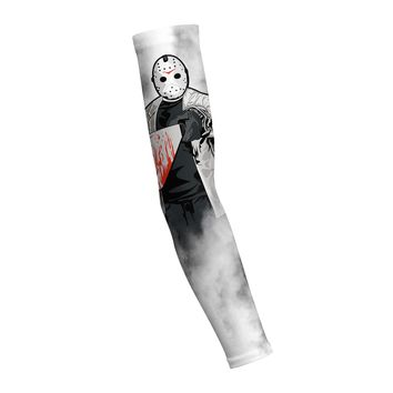Jason Halloween Shooting Arm Sleeve