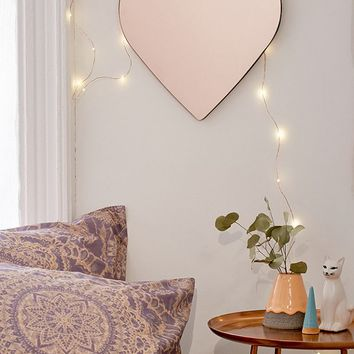 Heart Mirror | Urban Outfitters