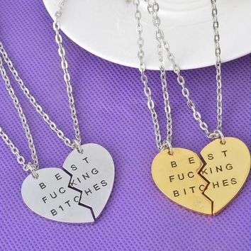 best bitches friends forever love good friend necklace uniquenacklace 36 2