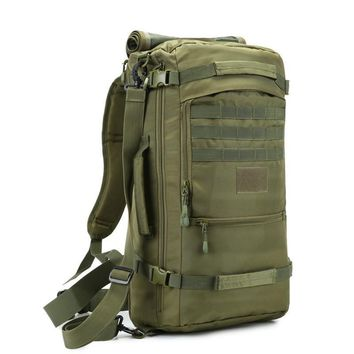 military new backpack waterproof 1680 D Oxford bags high grade 17-inch flat-panel laptop boy backpack 60 l travel backpack