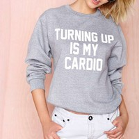 Private Party Turning Up Sweatshirt