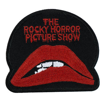 Rocky Horror Picture Show Patch Iron on Applique Alternative Clothing Gothic Culture