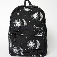 Motel Tripper Printed Rucksack in Sun, Moon and Stars