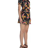 Fendi - Cadi Belted Silk Dress - Saks Fifth Avenue Mobile