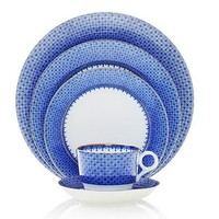 MOTTAHEDEH Blue Lace Dinnerware Collection