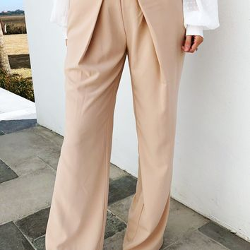 Building Her Empire Pants: Rose Beige