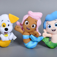 2016 Original Bubble Guppies Plush Toy Cartoon Bubble Puppy Molly Gil stuffed doll Sweet dog fish pet shop kids toys Plush Toy