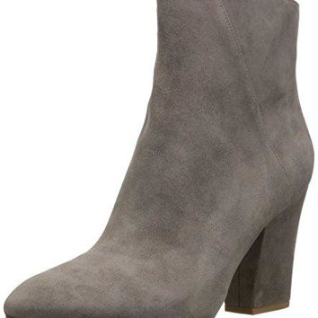 Women's Savitra Suede Ankle Boot Nine West Synthetic sole