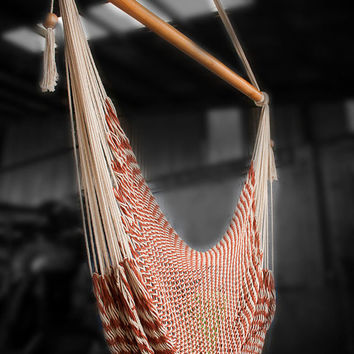 Hanging Chair Extra Long (6,5 ft) | Caribbean Style | Cloud-like Comfort