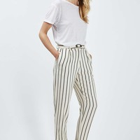 Striped Mensy Peg Trousers - New In This Week - New In