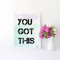 You got this art print for home, bedroom, office, or home decor