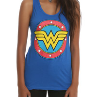 DC Comics Wonder Woman Logo Girls Tank Top