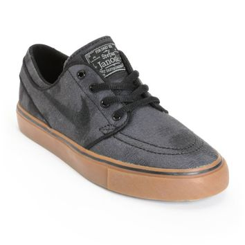 Nike SB Zoom Stefan Janoski Canvas Print Skate Shoes