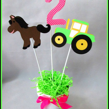 Barnyard/Farm Birthday Party Centerpiece