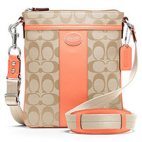 COACH SIGNATURE SWINGPACK - Crossbody & Messenger Bags - Handbags & Accessories - Macy's