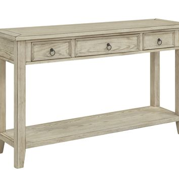 Summerville Three Drawer Console Table