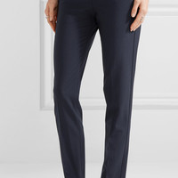Theory - Testra wool-blend crepe slim-leg pants