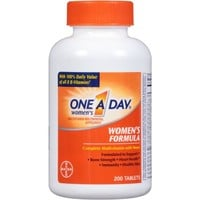 One A Day Women's Multivitamin/Multimineral Supplement Tablets, 200 count - Walmart.com