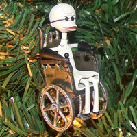 Nightmare Before Christmas Ornament, Dr. Finklestein Ornament, Christmas Ornament