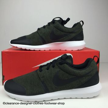 NIKE ROSHE NM TP TRAINERS ROSHERUN TECH PACK FLEECE MENS SHOES UK 11.5 RRP ?110
