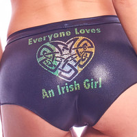 Everyone Loves An Irish Girl Shorts-St Patty's Day Collection