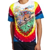 Liquid Blue Men's Grateful Dead Summer Tour Bus T-Shirt