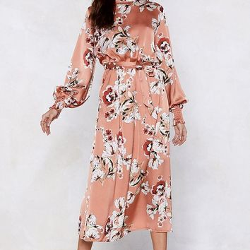 Wild Thoughts Floral Dress