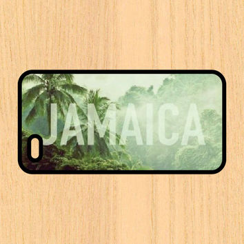 Jamaica Art Print Cell Phone Case iPhone 4/4s 5/5c 6/6+ Case and Samsung Galaxy S3/S4/S5