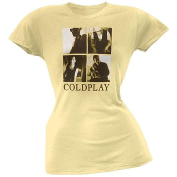 Coldplay - Yellow Juniors T-Shirt