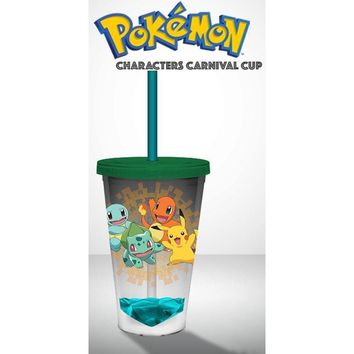 pokemon Acrylic Carnival Cup - Character Printed-19 oz