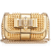 Sweety Charity Nu Gold Specchio Leather