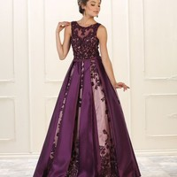 Prom Long Dress Plus Size Formal Ball Gown