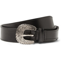 Saint Laurent - Black 3cm Leather Belt | MR PORTER