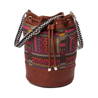 Womens Tribal Bucket Handbag