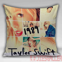 Taylor Swift Birthday Throw Pillow for the Home Decor