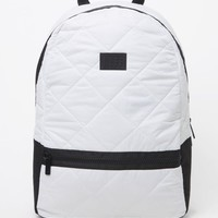 Neff Quilter School Backpack - Womens Backpack - White - One